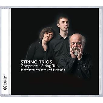 Goeyvaerts String Trio - Sch Nberg, Webern, Schnittke: String Trios [CD] USA import