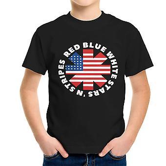 Amerika paprika Kids t-skjorte