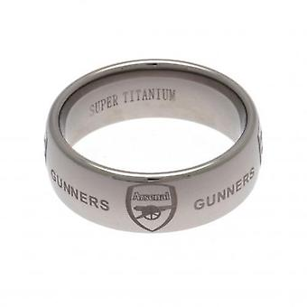 Arsenal Super Titanium Ring Medium