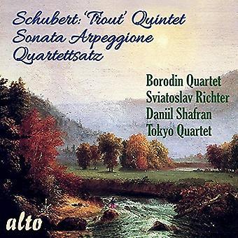 Sviatoslav Richter Daniil Shafran Toky - Schubert: Trout Quintet; Sonata Arpeggio [CD] USA import