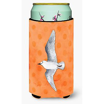 Sea Gull Orange Polkadot Tall Boy Getränk Isolator Hugger