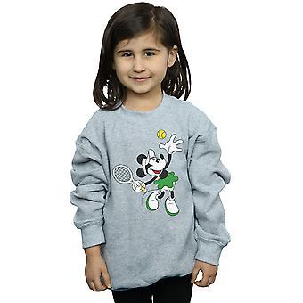 Disney Girls Minnie Mouse Tennis Sweatshirt