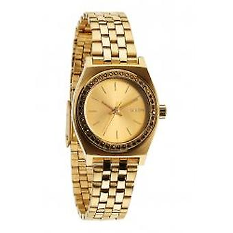 Nixon The Small Time Teller All Gold Crystal (A3991520)