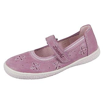 Lurchi Tiffi Oldrose Suede 331527023 universal all year kids shoes