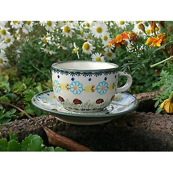 Cup and saucer, traditional 122, BSN m-3608
