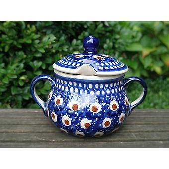 Sugar Bowl, height 10 cm, Ø 12 cm, tradition 58 - ceramic tableware - BSN 22021