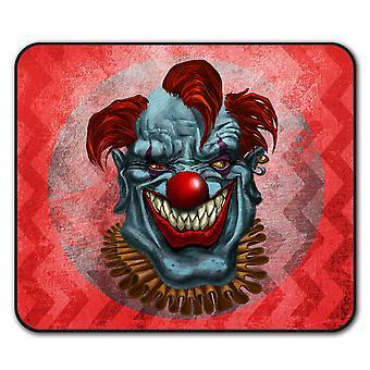 Creepy Horror Clown eng antislip-muismat Pad 24 x 20 cm | Wellcoda