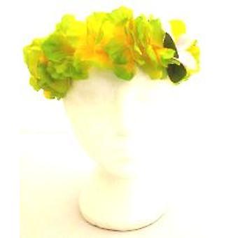Hawaiian bloem superieure Hairband - groen