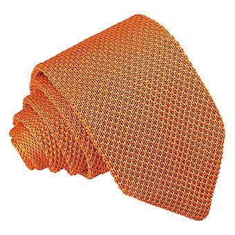 Tangerina de malha gravata Slim