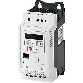 Inversor da frequência de Eaton DC1-127D0NN-A20CE1 1.5 kW 1-Fase 230 V