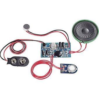 Conrad Components 191083 Audio recording unit Component 9 V DC Recording Time 20 s