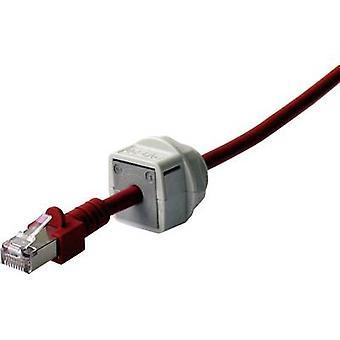 Icotek QVT 20 Cable grommet compartimentable Polycarbonate (PC) Grey 1 pc(s)