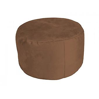 Pouf Alka chocolate with filling 34 x 47 x 47