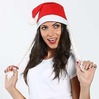 ハーネス付きクリスマス サンタ クロース帽子