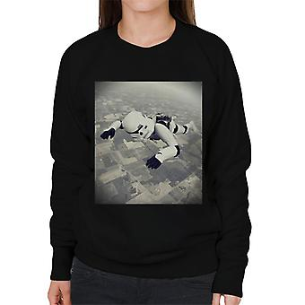 Original Stormtrooper Skydiving Women's Sweatshirt