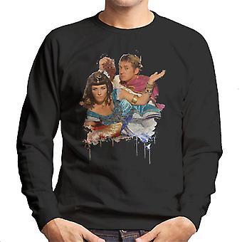 TV ganger Kat og Alfie Eastenders menns Sweatshirt