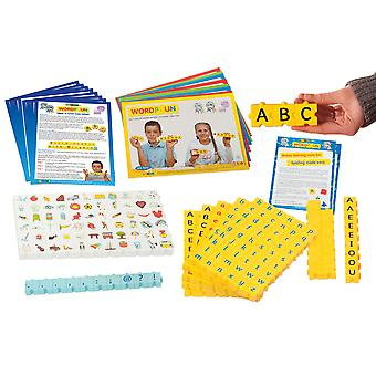 Morphun Uppercase & Lowercase Letters Set with Pictures - Literacy Resources