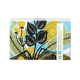 National Trust Countryside Soap Cowslip & Meadowsweet 127g