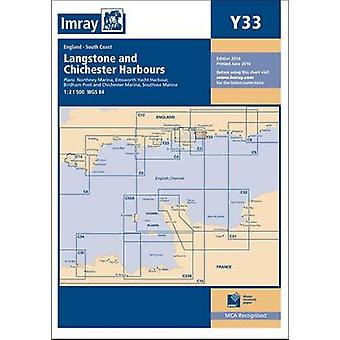 Imray Chart Y33 - Langstone and Chichester Harbours by Imray - 9781846