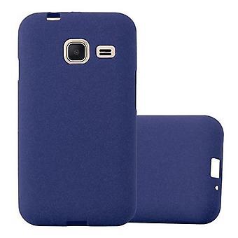 Custodia Cadorabo per la copertura per custodia Samsung Galaxy J1 MINI 2016 - Custodia flessibile in silicone TPU Custodia Ultra Slim Soft Back Cover Bumper