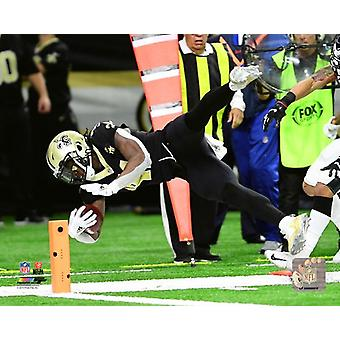 Alvin Kamara 2018 NFC Divisional Playoff Game Photo Print