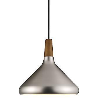 Float 27 - Medium Conical Brushed Steel Pendant - Nordlux 78213032