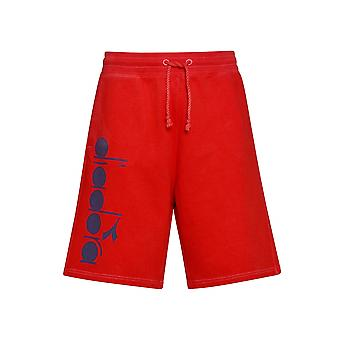 Diadora Red Jersey Shorts
