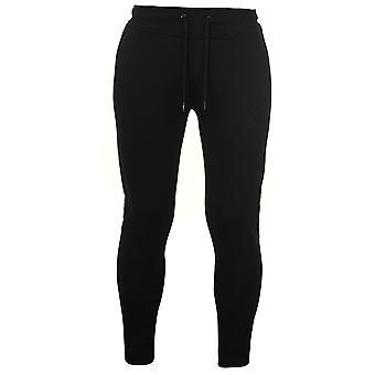 Stof Herre broderet tilspidset Jogging bunde sport uddannelse bukser bukser