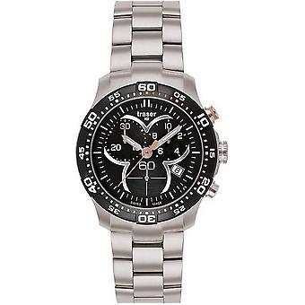 Traser H3 Ladytime Черный Хронограф Мужские часы T7392. 2AH. G1A. 01 100298