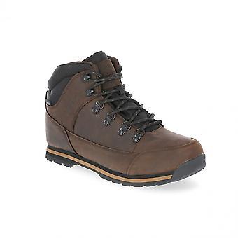 Traspaso Mens Jericó cuero impermeable botas de caminar