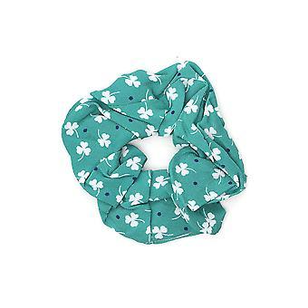 Andamane Almagreenwhiteclover719 Women's Green Cotton Headband