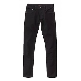 Nudie Jeans Co Tight Terry Skinny Fit Jeans (Everblack)