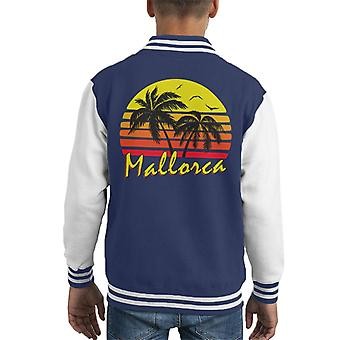 Mallorca Vintage zon Kid's Varsity Jacket