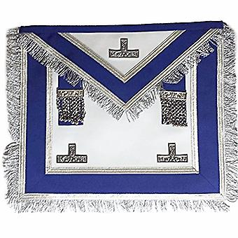 Centennial/Canadian MM/PM Worshipful Royal Blue Apron Silver Fringe