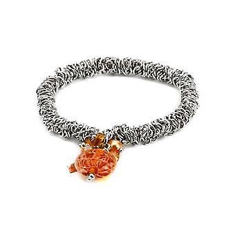 Intrige Womens/Damen Murano Bead Charm Armband