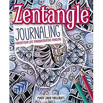 Zentangle Journaling by Mary Jane Holcroft - 9781784049812 Book