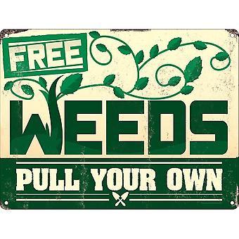 Grindstore الأعشاب الحرة البسيطة القصدير علامة