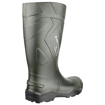 Dunlop C762933 Purofort + volle Sicherheit Standard Wellington Boxed / Herren Schuhe