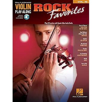 Violin Play-Along - Rock Favorites - Volume 49 - 9781480395459 Book