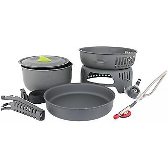 Yellowstone Aluminium Tornado Cook Set Graphite