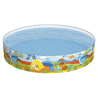 Bestway 72 x 15 Inch Dinosaurs Fill n Fun Swimming Paddling Pool