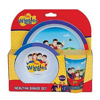 Wiggles 3-częściowy zestaw obiadowy