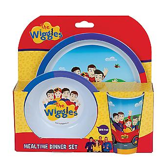 Wiggles 3-Piece vacsora szett