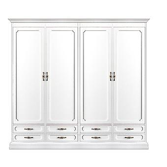 armoire modulaire 4 portes et 8 tiroirs