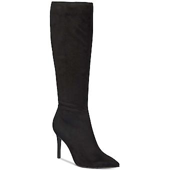 Thalia Sodi Womens Rajel Fabric Pointed Toe Over Knee Fashion Boots