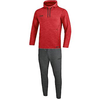 JAKO jogging suit Premium Basics with hooded weatwear