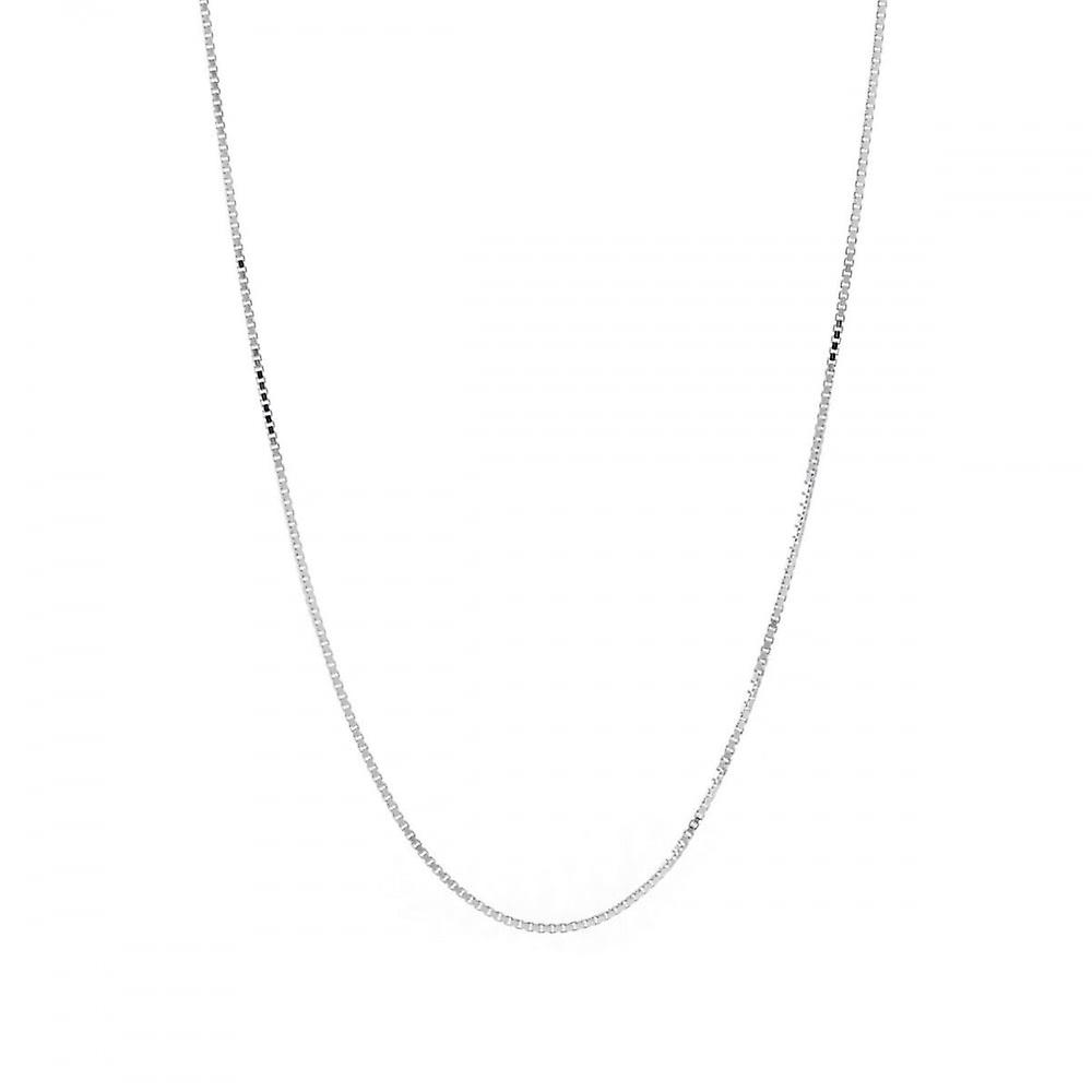 Eternity Sterling Silver 24'' Box Chain