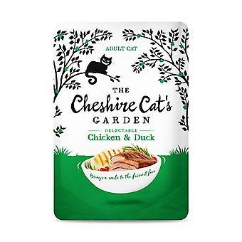 Kot z Cheshire ogród kurczaków i kaczek mokry kot żywność - 1 X 85g