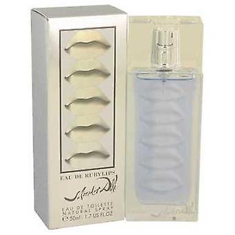 Eau De Ruby Lips By Salvador Dali Eau De Toilette Spray 1.7 Oz (women) V728-439309
