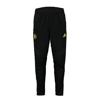2019-2020 Man Utd Adidas Training Pants (Black)